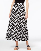 INC International Concepts Petite Printed Maxi Skirt, Only at Macy's
