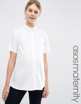 Asos Shirt With Short Sleeve
