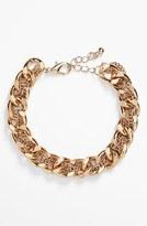 Stephan & Co Woven Chain Bracelet (Juniors)