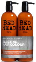 TIGI Bed Head color Goddess Oil Infused Shampoo and Conditioner for colored Hair 2 x 750ml