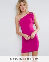 ASOS Tall ASOS TALL One Shoulder Mini Bodycon Dress