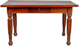 One Kings Lane Vintage Dutch Colonial Javanese Teak Desk - FEA Home