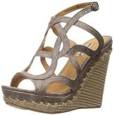 Not Rated Women's Anatolia Wedge Sandal,8 M US