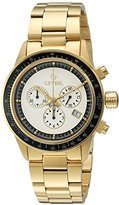 Tribeca Gevril Men's A2115 Analog Display Quartz Gold Watch