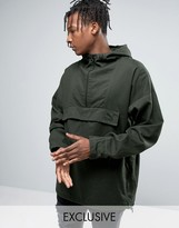 Puma Overhead Jacket In Green Exclusive To ASOS 57531901