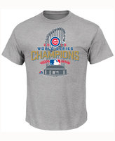 Majestic Men's Big & Tall Chicago Cubs World Series Champ Locker Room T-Shirt