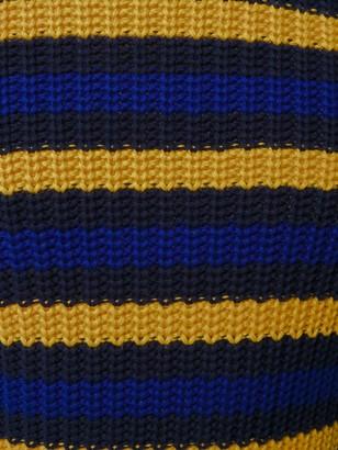 Mp Massimo Piombo Striped Chunky Sweater