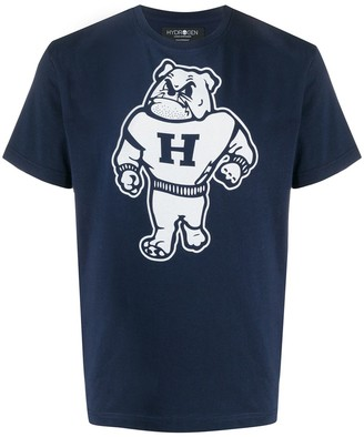 Hydrogen logo graphic print T-shirt