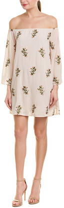Endless Rose Embroidered Shift Dress
