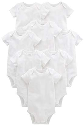 Carter's Simple Joys by Baby 8-Pack Short-Sleeve Bodysuit