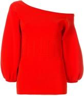 Ginger & Smart Valour crepe knit top