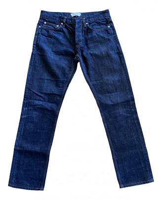 Sandro Blue Polyester Jeans