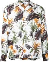 soe foliage-print shirt