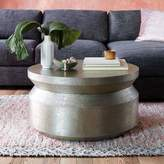 west elm Hammered Metal Accordion Coffee Table