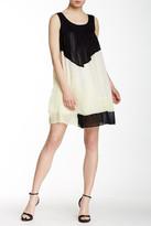 Lavand Pleated Mini Dress