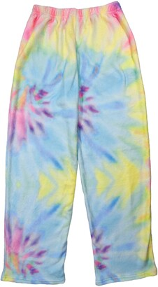 Iscream Pastel Tie Dye Plush Lounge Pants