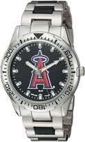 Game Time Men's 'Heavy Hitter' Quartz Metal and Alloy Automatic Watch, Color:Silver-Toned (Model: MLB-HH-LAA)