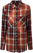Amiri plaid pocket shirt