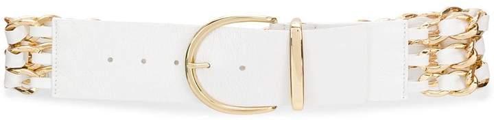 B-Low the Belt chain-detail buckle belt