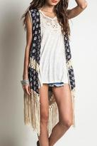 Umgee USA Falling For Prints Vest