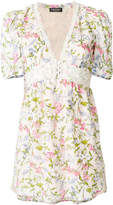 Twin-Set floral flared blouse