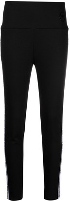 MICHAEL Michael Kors Side-Stripe Fitted Trousers