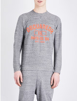 DSQUARED2 Brand logo cotton-jersey sweatshirt