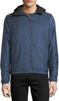 Prada Hooded Wind-Resistant Jacket