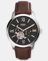 Fossil Townsman Mechanical Leather