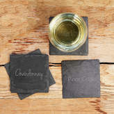 Cathy's Concepts CATHYS CONCEPTS Wine Connoisseur Slate 4-pc. Coasters