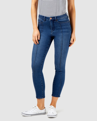 Jeanswest Penelope Mid Waisted Skinny Crop