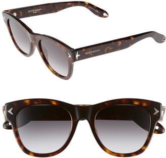 Givenchy 51mm Wayfarer Sunglasses
