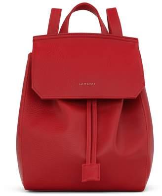 Matt & Nat Mumbai Backpack Small Red