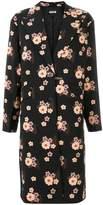 Miu Miu floral long coat