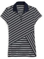 Tommy Hilfiger Women's Criss Cross Pieced Polo