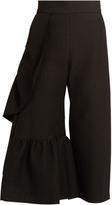 Rachel Comey Revel ruffle-trimmed cotton-blend trousers
