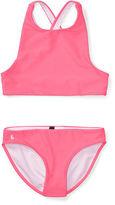 Ralph Lauren 7-16 Crisscross Two-Piece Swimsuit
