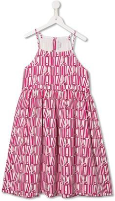 Stella McCartney Logo Print Dress