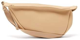 The Row Slouchy Banana Large Leather Cross-body Bag - Womens - Cream