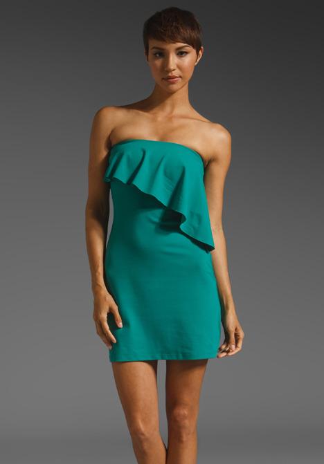 Susana Monaco Angle Flutter Dress