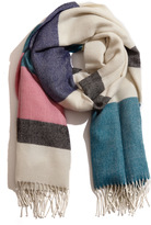 A Peace Treaty Selen Striped Scarf
