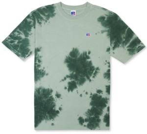 Russell Athletic Men's Slim-Fit Rock Garment-Dyed Tie Dye T-Shirt