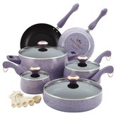 Paula Deen 15 Piece Porcelain Non-Stick Cookware Set