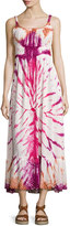 Raga Sleeveless Tie-Dye Maxi Dress, Rust