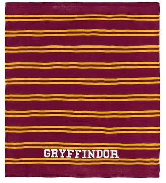 Pottery Barn Teen HARRY POTTER Knit Throw, 50x60, Gryffindor