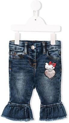 MonnaLisa Ruffled Cuff Jeans
