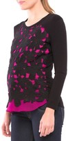 Olian Women's Floral Maternity Top