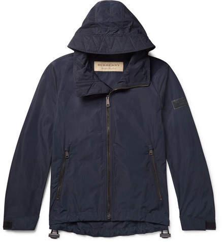 Burberry Shell Jacket - Men - Navy