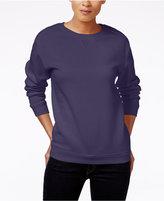 Karen Scott Fleece Sweatshirt, Only at Macy's