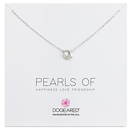 Dogeared Pearls Of Necklace, 16